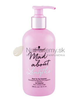 Schwarzkopf Professional Mad About Lengths Root to Tip, Šampón 300ml