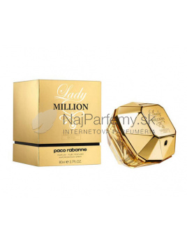 Paco Rabanne Lady Million Absolutely Gold, Vzorka vône