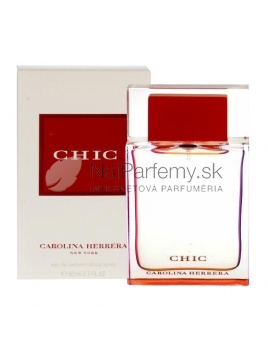 Carolina Herrera Chic, Parfumovaná voda 80ml