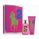 Ralph Lauren Big Pony 2 for Women, Edt 100ml + 200ml telove mlieko