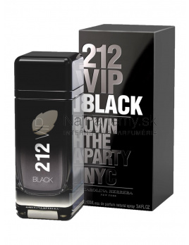 Carolina Herrera 212 VIP Black Men,  Parfumovaná voda 50ml