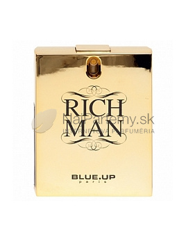Blue up Paris Rich Man for men, Toaletná voda 100ml (Alternatíva parfému Paco Rabanne 1 million) - Zlata edicia