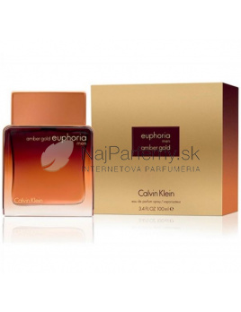 Calvin Klein Euphoria Amber Gold for Men, Parfémovaná voda 100ml