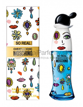 Moschino So Real Cheap And Chic, Toaletná voda 100ml - tester