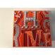 Prázdna Krabica Hermes Terre D´Hermes, Rozmery: 21cm x 21cm x 7cm