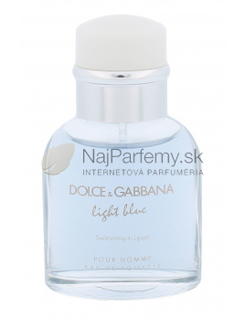 Dolce&Gabbana Light Blue Swimming in Lipari Pour Homme, Toaletná voda 40ml