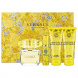 Versace Yellow Diamond, Edt 90ml + 100ml tělové mléko + 100ml sprchový gel + 10ml Edt