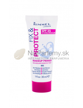 Rimmel London Fix & Protect Makeup Primer SPF25 005, Podklad pod make-up 30ml