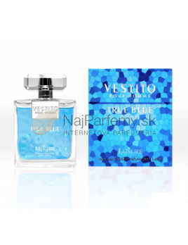 Luxure Vestito True Blue, Toaletná voda 100ml (Alternatíva vône Versace Man Eau Fraiche)