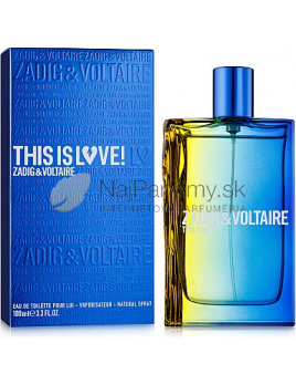 Zadig & Voltaire This is Love! Pour Lui, Toaletná voda 100ml