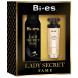 Bi-es Lady Secret Fame SET: Parfémovaná voda 50ml + Deodorant 150ml (Alternatíva parfému Lady Gaga Lady Gaga Fame)