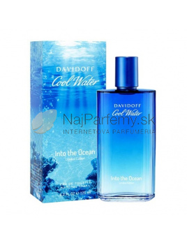 Davidoff Cool Water Into The Ocean, Toaletná voda 125ml
