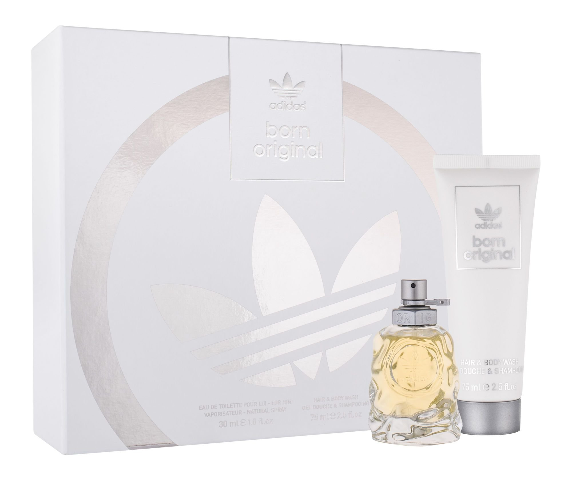 Adidas Born Original SET: edt 50ml + tusfürdő gél 75 ml