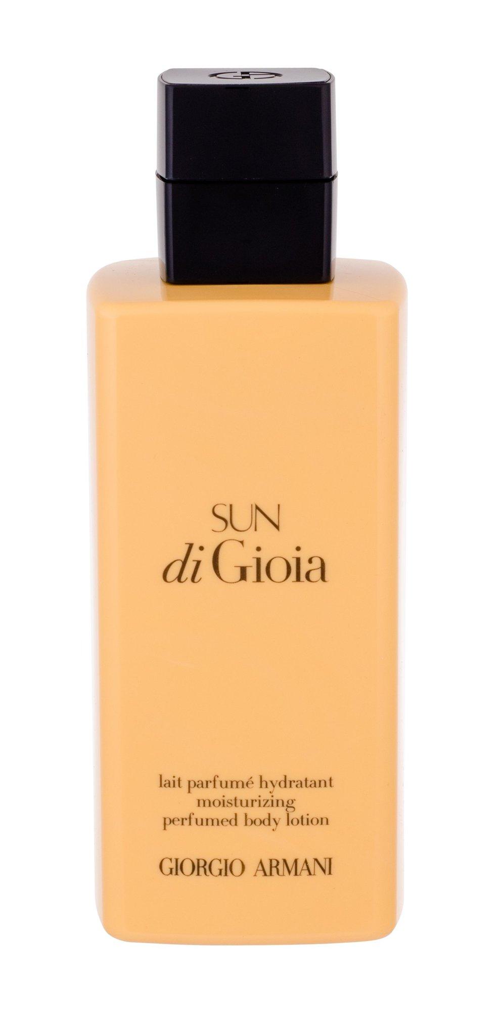 Giorgio Armani Sun di Gioia, Tělové mléko 200ml