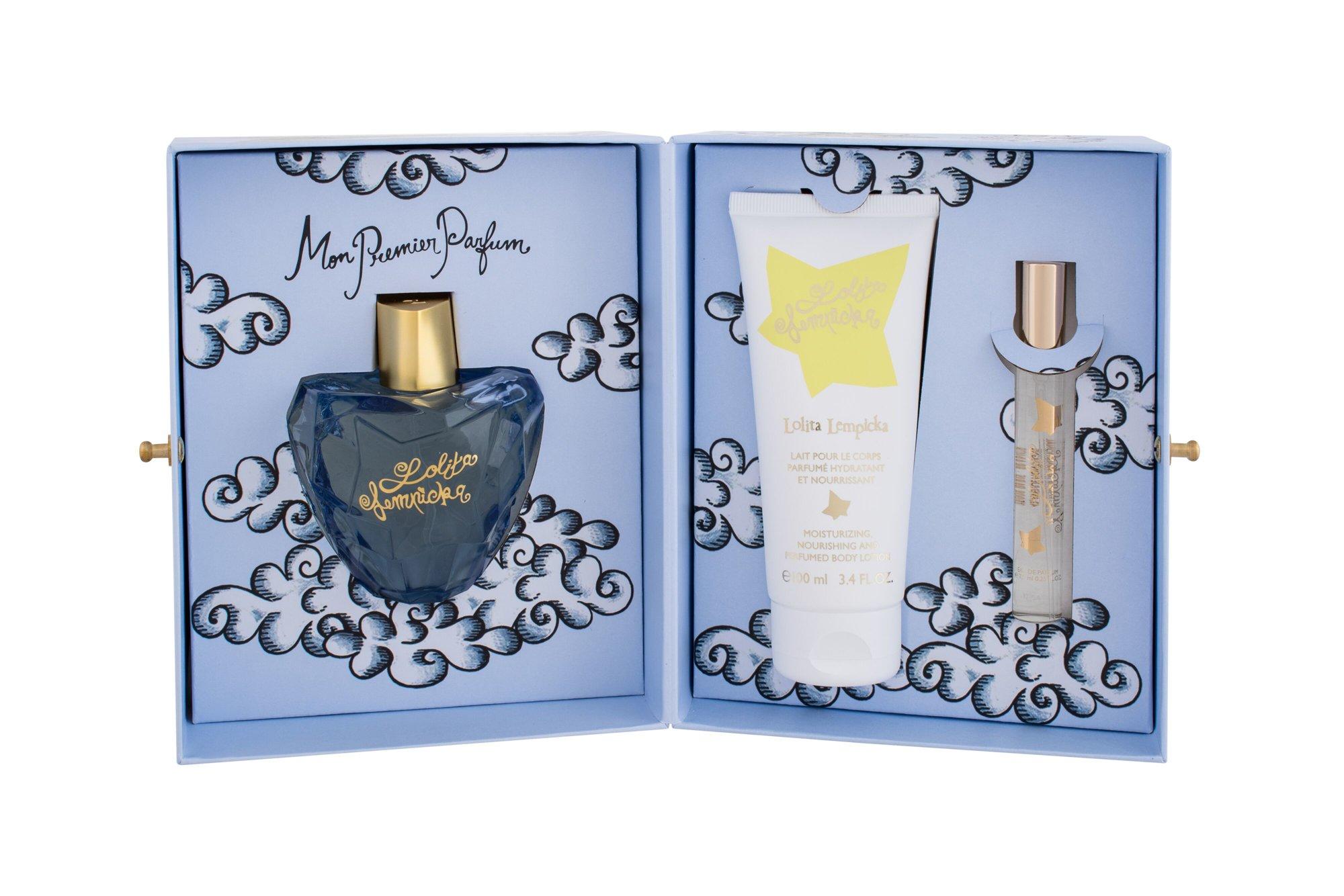 Lolita Lempicka Lolita Lempicka, parfumovaná voda 100 ml + Tělové mléko 100 ml + parfumovaná voda 7,5 ml