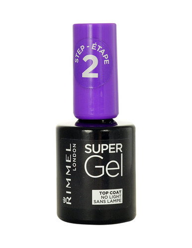 Rimmel London Super Gel Top Coat, Körömlakk 12ml