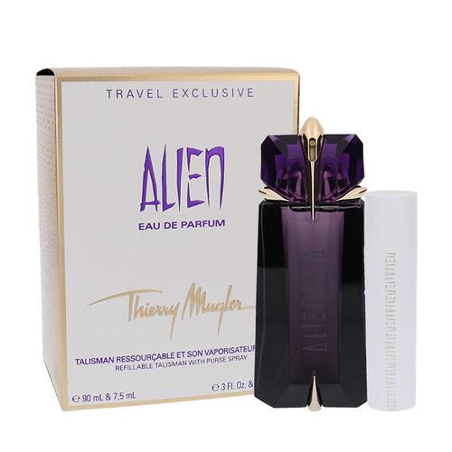 Thierry Mugler Alien, parfémovaná voda 90 ml + parfemovaná voda 7,5 ml - naplnitelný