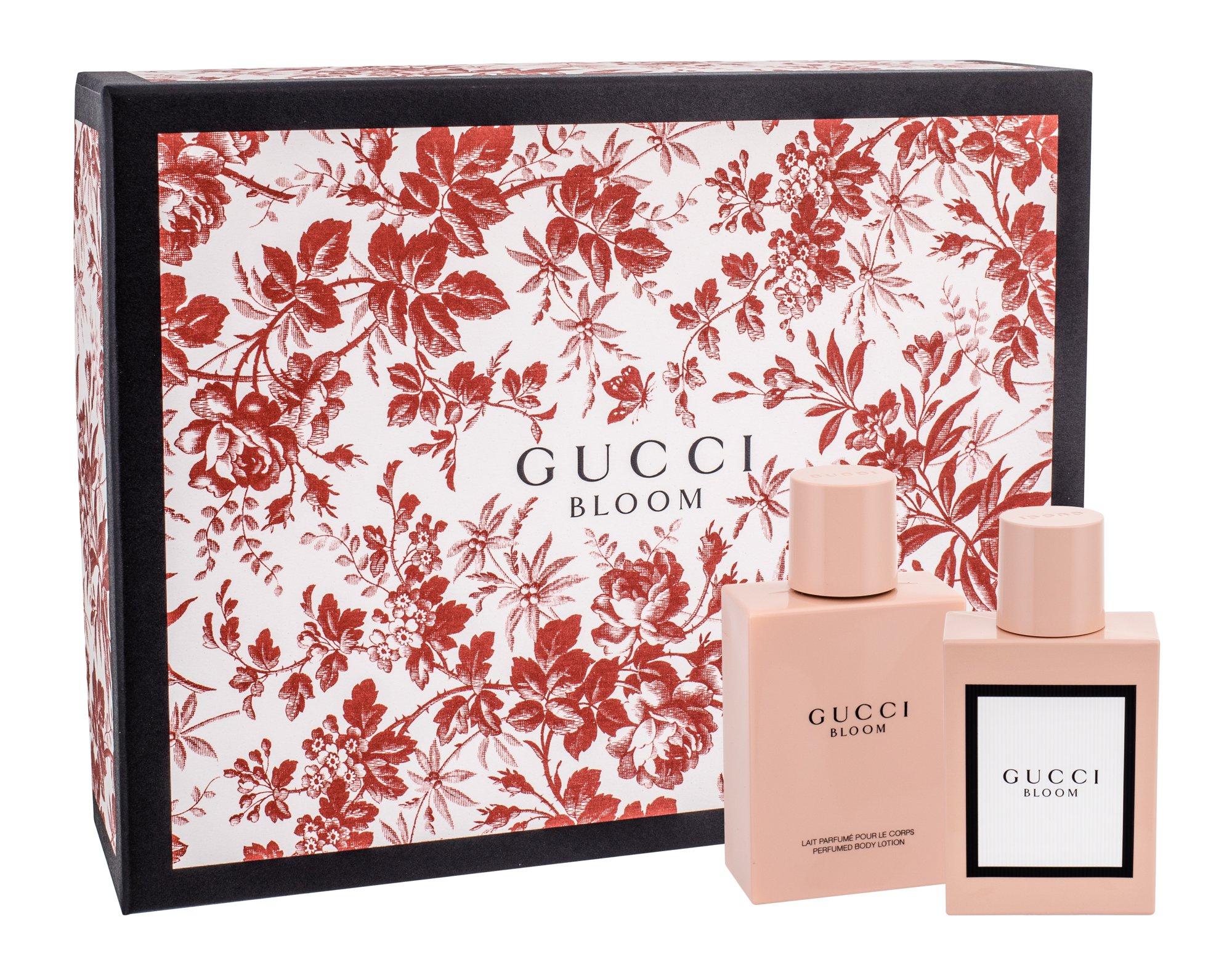Gucci Bloom, parfumovaná voda 50 ml + telové mlieko 100 ml