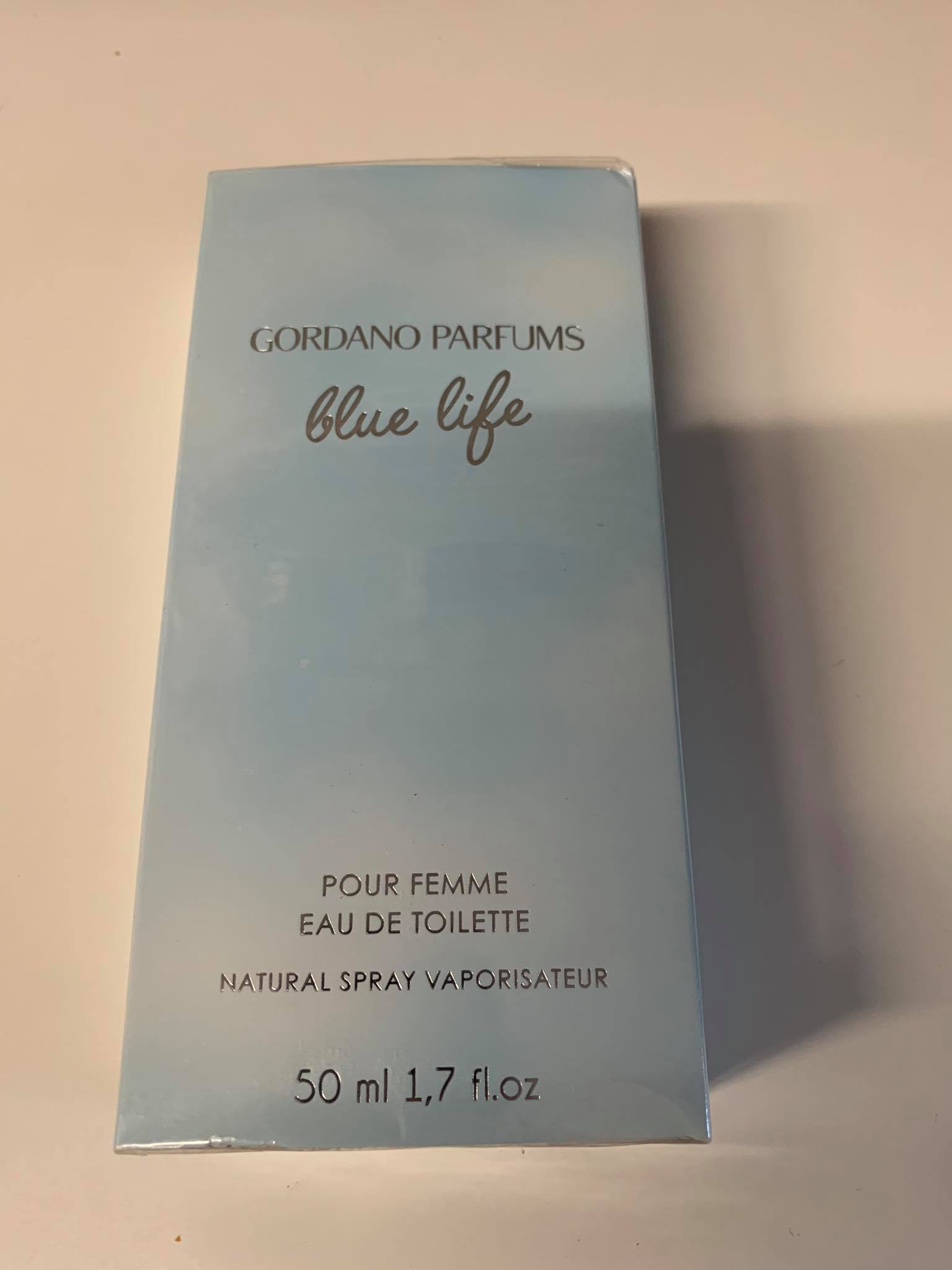 Gordano Parfums Blue Life, edt 50ml (Alternatív illat Dolce & Gabbana Light Blue)