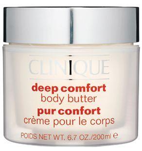 Clinique Hair and Body Care telové maslo pre veľmi suchú pokožku (Deep Comfort Body Butter) 200ml