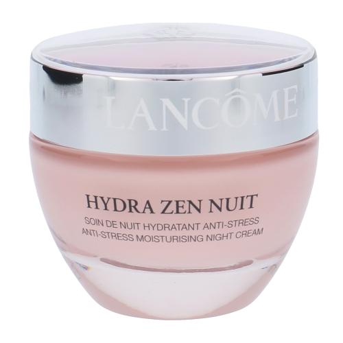 Lancome Hydra Zen Nuit Anti-Stress Moisturising Cream, Nočný krém na všetky typy pleti - 50ml, Pro všechny typy pleti
