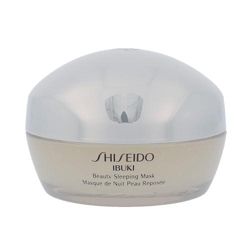 Shiseido Ibuki Beauty Sleeping Mask, hidratáló arcmaszk - 80ml, Pro rozzářenou pleť