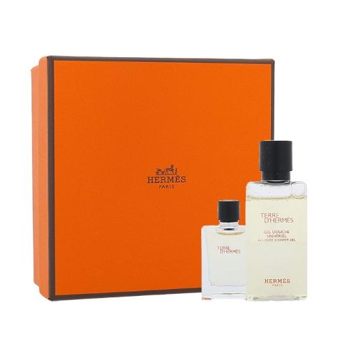 Hermes Terre D Hermes, toaletní voda 5 ml + Tusfürdő 40 ml