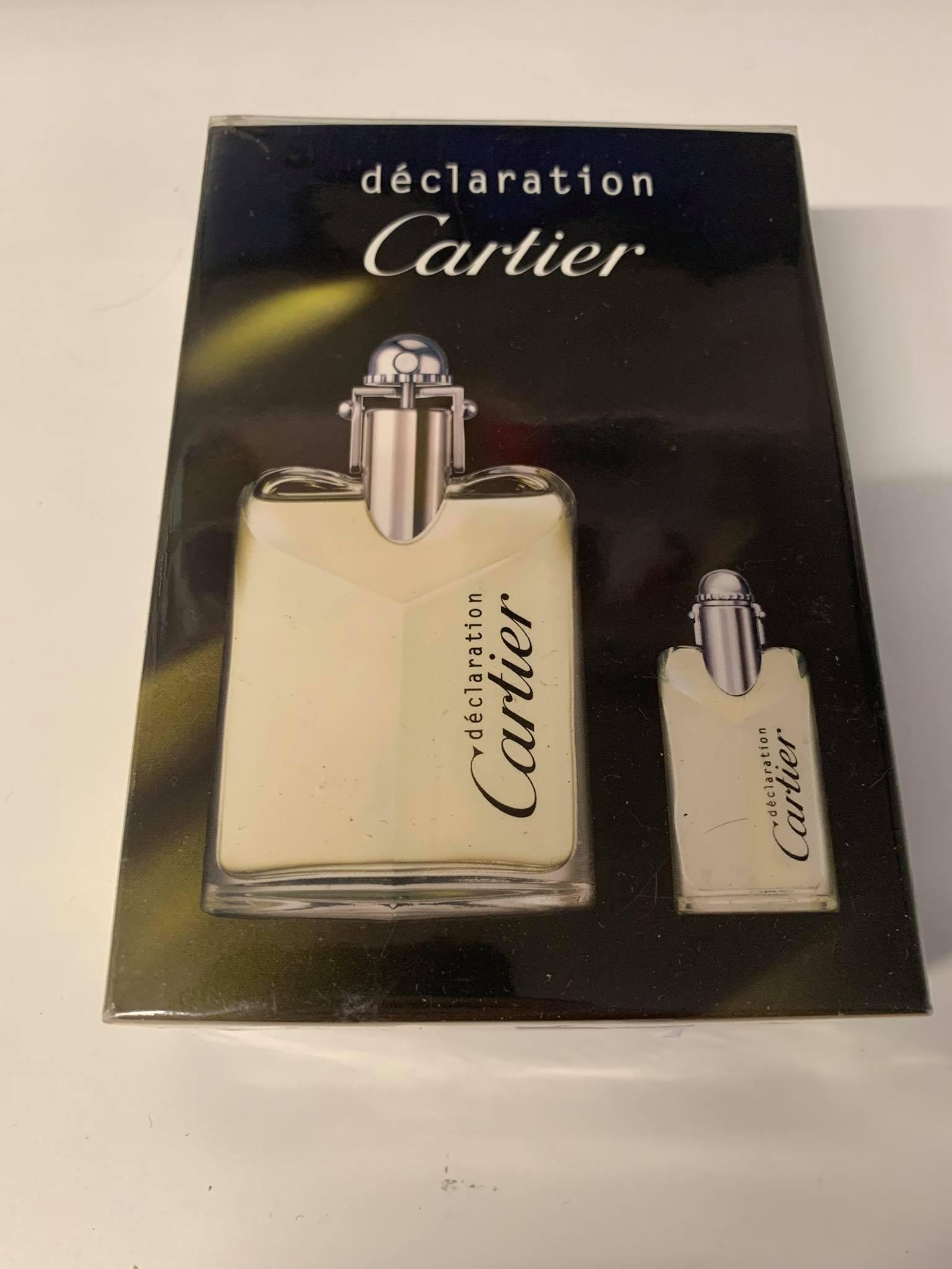 Cartier Declaration SET: edt 50ml + edt 4ml