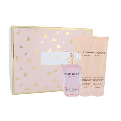 Elie Saab Le Parfum Rose Couture, toaletní voda 50 ml + tělové mléko 75 ml