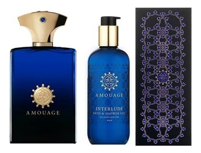 Amouage Interlude Woman SET: Parfumovaná voda 100ml + Sprchovací gél 300ml