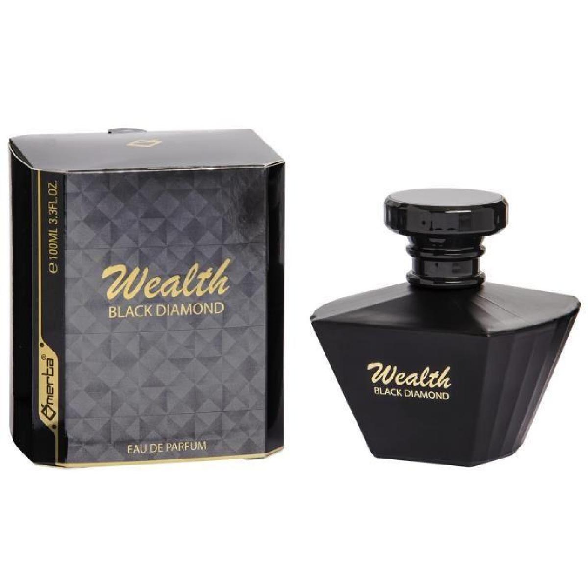 Omerta WEALTH BLACK DIAMOND, Parfémovaná voda 100ml (Alternativa parfemu Lancome La Nuit Tresor)