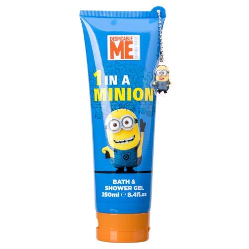 Minions Bath & Shower Gel 1 In A Minion, Sprchový gél - 250ml, Pro všechny typy pokožky