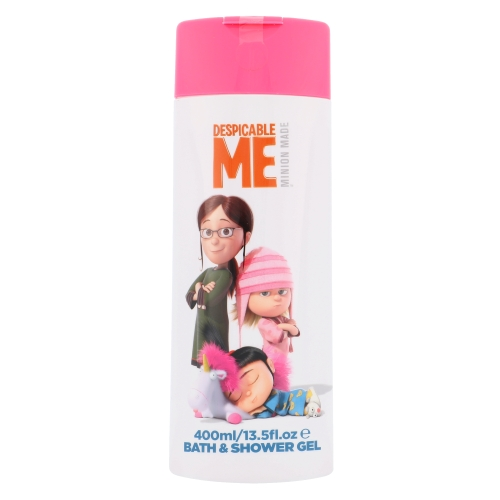 Minions Bath & Shower Gel, tusfürdő gél - 400ml, Pro všechny typy pokožky