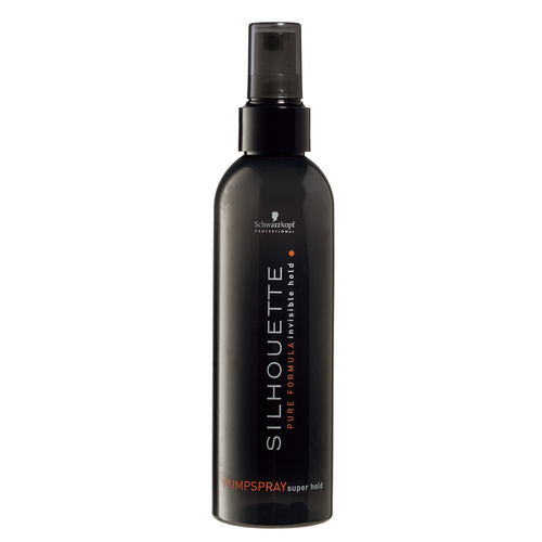 Schwarzkopf Silhouette Super Hold Pumpspray, Lak na vlasy - 1000ml, Super silná fixace - náplň