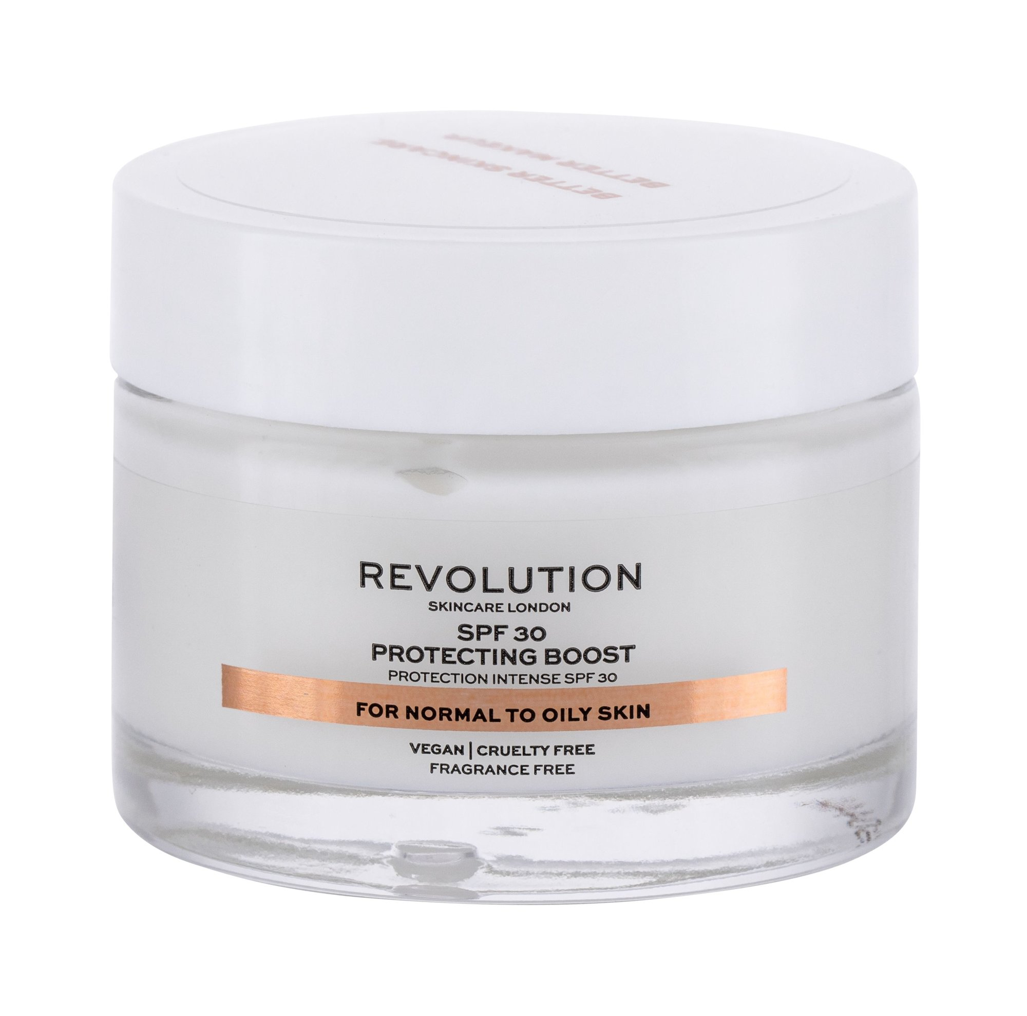 Revolution Skincare Moisture Cream Normal to Oily Skin, Denný arcápoló krém 50ml - SPF30