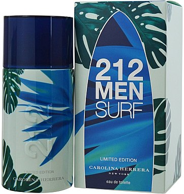 Carolina Herrera 212 Men Surf, edt 100ml - Teszter