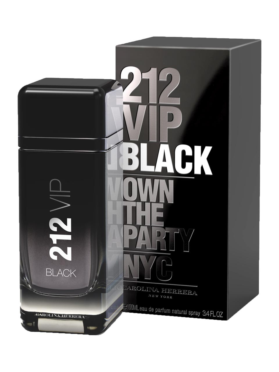 Carolina Herrera 212 VIP Black Men,  Parfumovaná voda 100ml