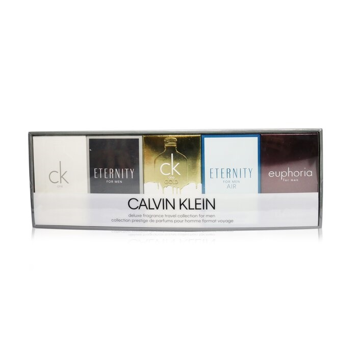 Calvin Klein Mini SET: CK One 10ml + Eternity for Men 10ml + CK One Gold 10ml + Eternity for Men Air 10ml + Euphoria for Men 10ml