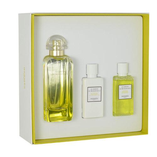 Hermes Le Jardin de Monsieur Li, Edt 100ml + 40ml tělové mléko + 40ml sprchový gel