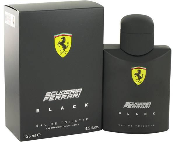 Ferrari Scuderia Ferrari Black, edt 125ml