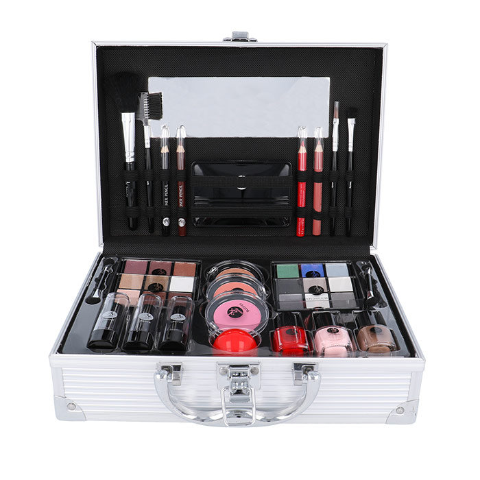 2K All About Beauty Train Case, Complete Makeup Palette