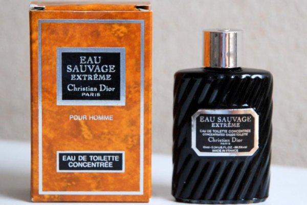 Christian Dior Eau Sauvage Extreme, edt 100ml - Teszter - Eredeti változat z roku 1984