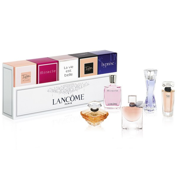 Lancome Mini SET: Hypnose 5ml edp + Tresor 7.5ml edp + La vie est Belle 4ml edp + Miracle 5ml edp + Tresor in Love 5ml edp