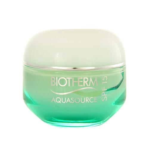 Biotherm Aquasource Cream SPF15 Normal Skin, Denný krém na normálnu a zmiešanú pleť - 50ml, Normální a smíšená pleť