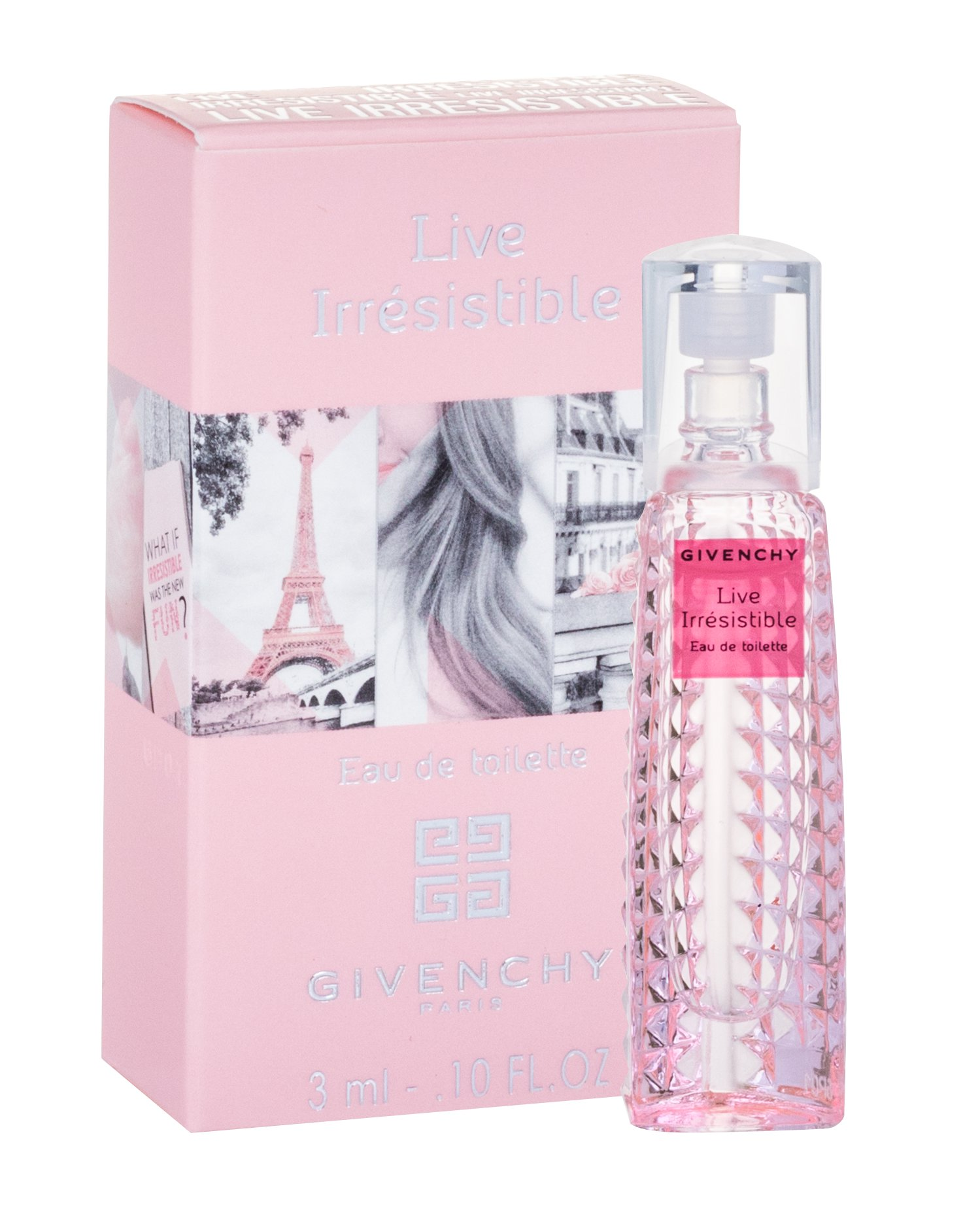 Givenchy Live Irrésistible, Parfumovaná voda 3ml