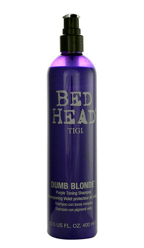 Tigi Bed Head Dumb Blonde Purple Toning, Šampón 400ml