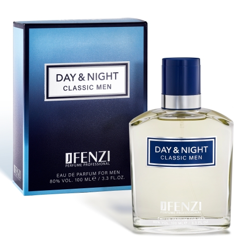 Jfenzi Day & Night Classic Men,  edp 100ml (Alternatív illat Dolce & Gabbana Pour Homme)