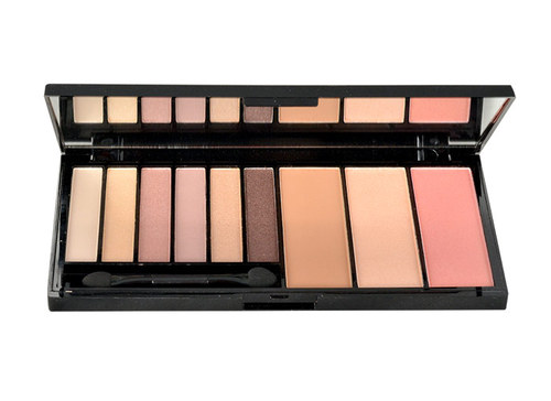 Makeup Revolution London Euphoria Palette Bare, Make-up - 18g, Paletka očních stínů a konturovací sada