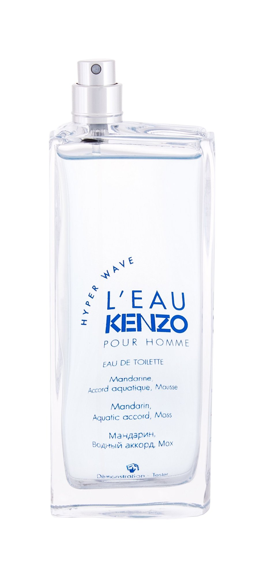 KENZO L´Eau Kenzo Pour Homme Hyper Wave, Toaletní voda 100ml - Tester