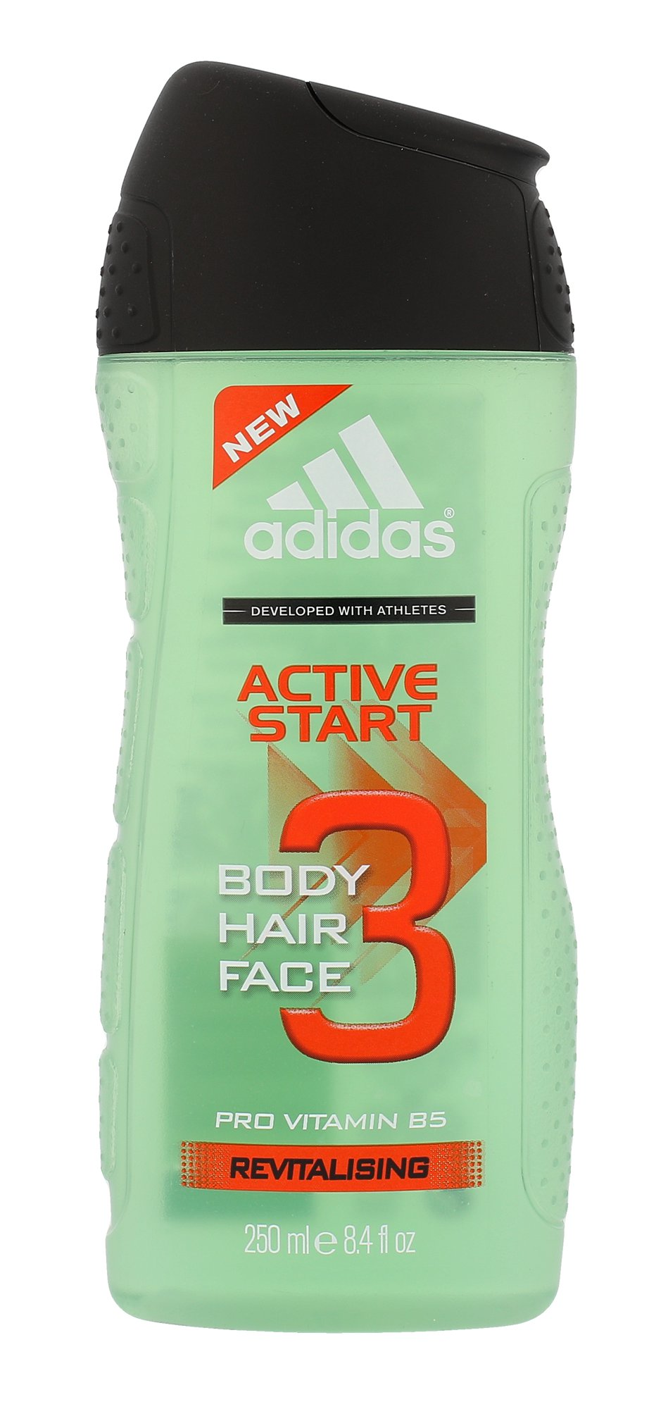 Adidas Active Start 3in1, Sprchovací gél 250ml